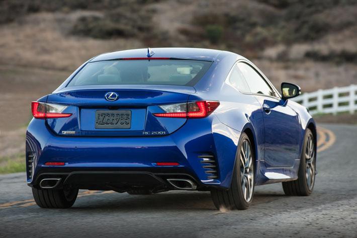Lexus RC получил новый турбомотор - AUTO.AZ