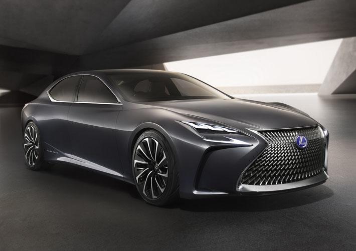 Lexus показал предвестника нового LS - AUTO.AZ