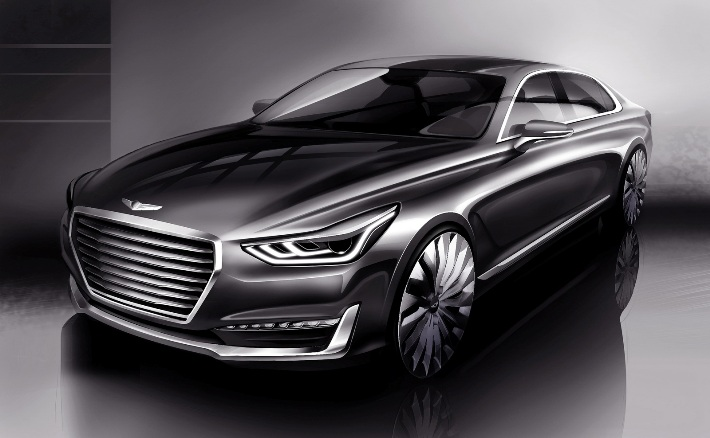 Hyundai показала преемника Equus