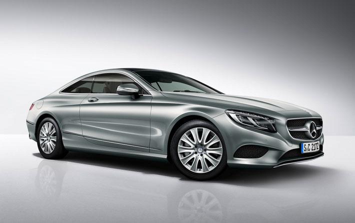 Mercedes S-Class Coupe в новой версии - AUTO.AZ