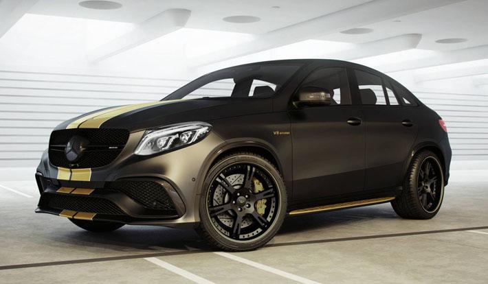 Mercedes GLE63 от Wheelsandmore - AUTO.AZ
