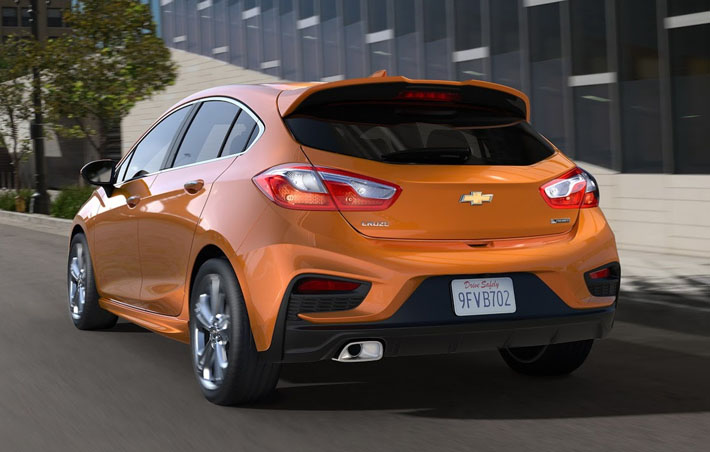 Chevrolet показала новый Cruze - AUTO.AZ