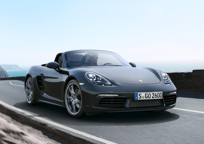 Porsche представил новый среднемоторный родстер - AUTO.AZ