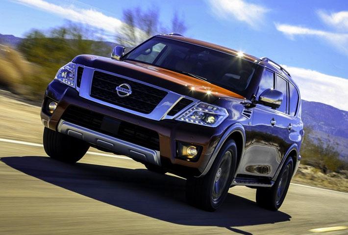 Nissan показал внедорожник Armada - AUTO.AZ