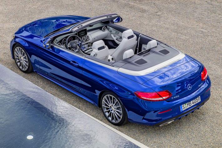 Новый Mercedes C-Class стал кабриолетом - AUTO.AZ