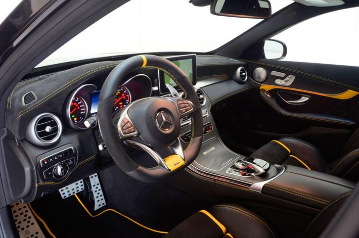 Новый Mercedes-AMG C63 S от Brabus - AUTO.AZ