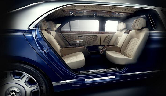 Bentley на метр удлинила Mulsanne - AUTO.AZ