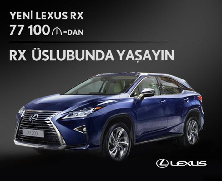 Новый стиль жизни от Lexus - люксовая модель RX - AUTO.AZ