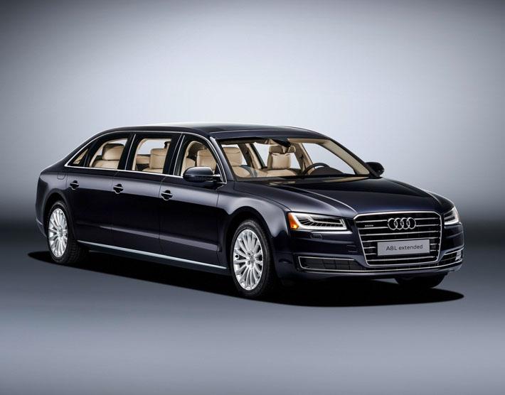 Audi представила лимузин A8
