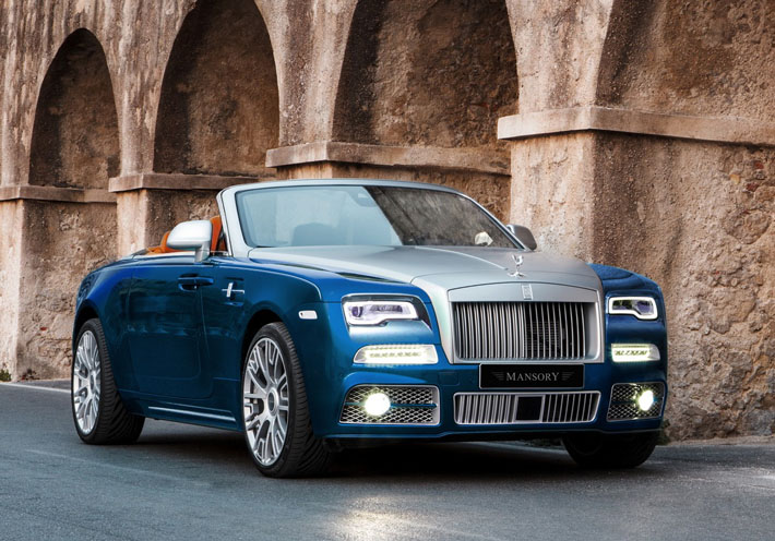Rolls-Royce Dawn от Mansory - AUTO.AZ