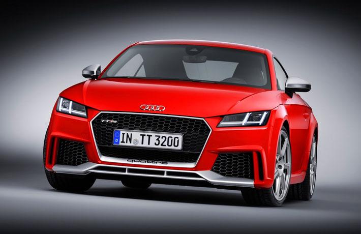 Audi TT RS получил 400 лошадиных сил - AUTO.AZ