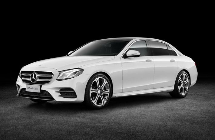 Mercedes-Benz удлинил новый E-Class