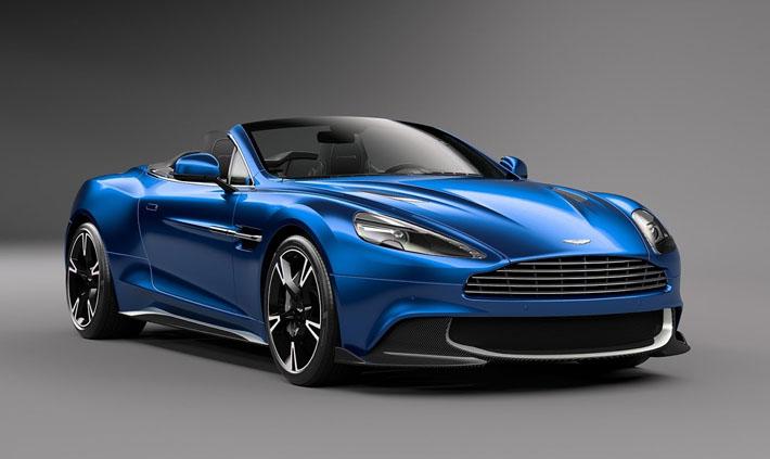 Aston Martin şirkəti ötən il Los-Anceles avtosalonunda nümayiş olunan 603-güclü superkar Vanquish S-in üstü açılan modifikasiyasını təqdim etdirib. Yeniliyin adında ənənəvi Volante əlavəsi peyda olub və damı açılandır.