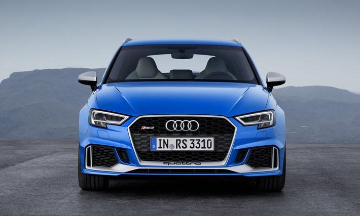 Audi şirkəti hetçbək banında təkmilləşdirilmiş RS3-ün sirrini açıb. Yenilik Cenevrə avtosalonunda debüt edəcək. Dünyada ən sürətli hetçbək Avropa bazarına cari ilin aprel ayında çıxarılacaq.