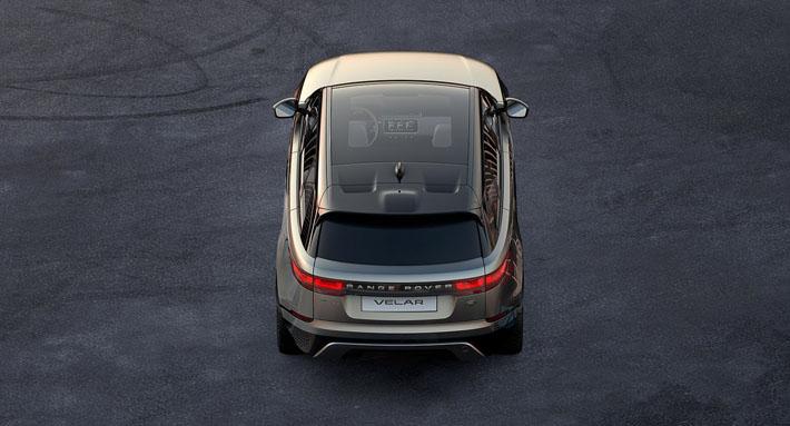 Range Rover ailəsinin dördüncü nümayəndəsi orta ölçülü krossover Velar olacaq. O, Cenevrə avtosalonu-2017-də təqdim ediləcək. Britaniya avtomobil istehsalçısının model sırasında o, Range Rover Evoque və Range Rover Sport modelləri arasında qərarlaşacaq.