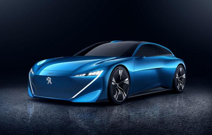 Peugeot şirkəti Barselonada yeni konsept Instinct təqdim edib. O, hibrid güc qurğusu, bir-birinə əks istiqamətdə açılan qapılar və tam avtomat idarəetmə funksiyası alıb.