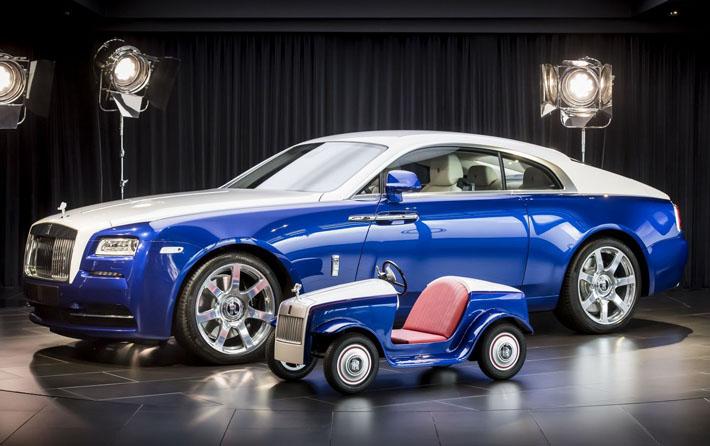 Rolls-Royce şirkəti uşaqlar üçün elektrokar hazırlayıb. Bu, məxsusi olaraq Böyük Britaniyanın Çiçester şəhərindəki müqəddəs Riçard xəstəxanasının pediatriya bölməsi üçün istehsal edilib.