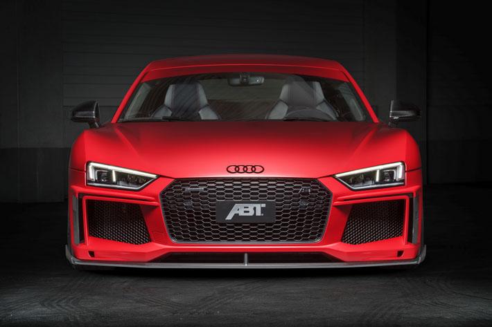 ABT tüninq-atelyesi Audi R8 V10 plus üçün növbəti təkmilləşdirmə paketi hazırlayıb. Bunun sayəsində model daha güclü və yüngül alınıb. Yenilik ilk dəfə Cenevrə avtosalonunda təqdim ediləcək.