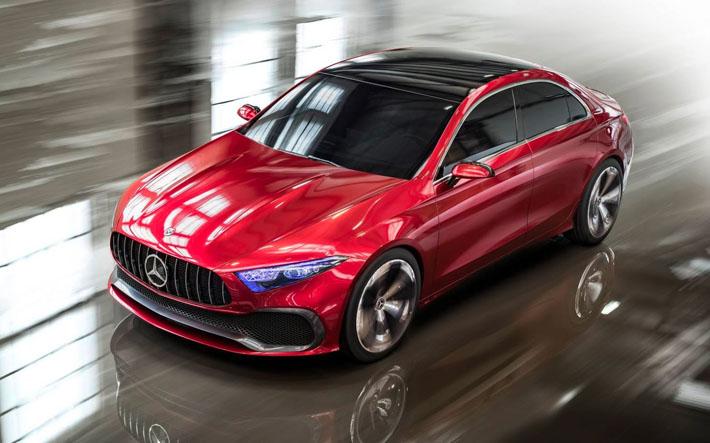 Mercedes-Benz Şanxay avtosalonuna yeni kompakt model gətirib. Prototip Concept A adlanır və yeni nəsil A-Class-dan xəbər verir. Bu barədə şirkətin mətbuat xidməti məlumat verib. Avtomobil seriyalı olduqdan sonra dünya bazarında Audi A3 ilə rəqabət aparacaq.