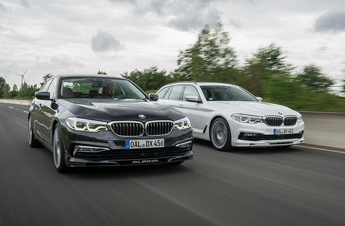 Alpina şirkəti yeni BMW 5 Series ailəsinin bazasında yığılmış D5 S modelini təqdim edib. Baxmayaraq ki, BMW-nin özündə 4-turbinli aqreqatlar var (məsələn, M550d), yenilik 3 ardıcıl sıxıcı kompressoru olan dizel mühərrik və tam ötürücü sistem alıb.