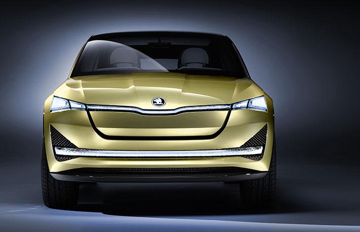 Skoda şirkəti Frankfurt-2017 avtosalonunda konseptual yolsuzluq avtomobili Vision E Concept-in təkmilləşdirilmiş versiyasını təqdim edib.