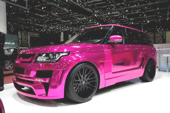 Hamann atelyesindən yenilik - Range Rover Mysteree