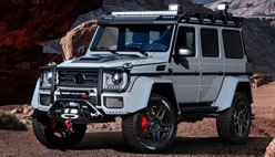 Brabus-dan Mercedes 550 Adventure