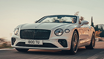 Yeni Bentley Continental GT kabriolet